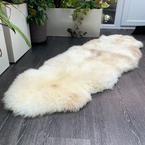 Sheepland organic rare breed double rug N5